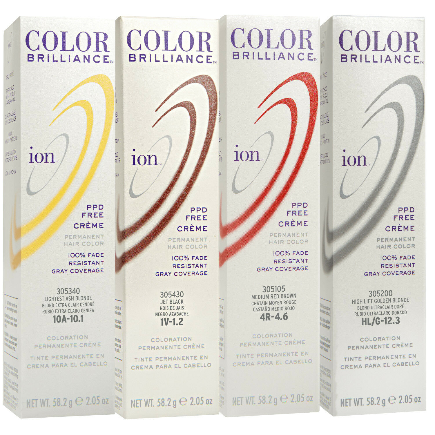 Ion Color Brilliance Creme Permanent Hair Colors 2oz Many Available