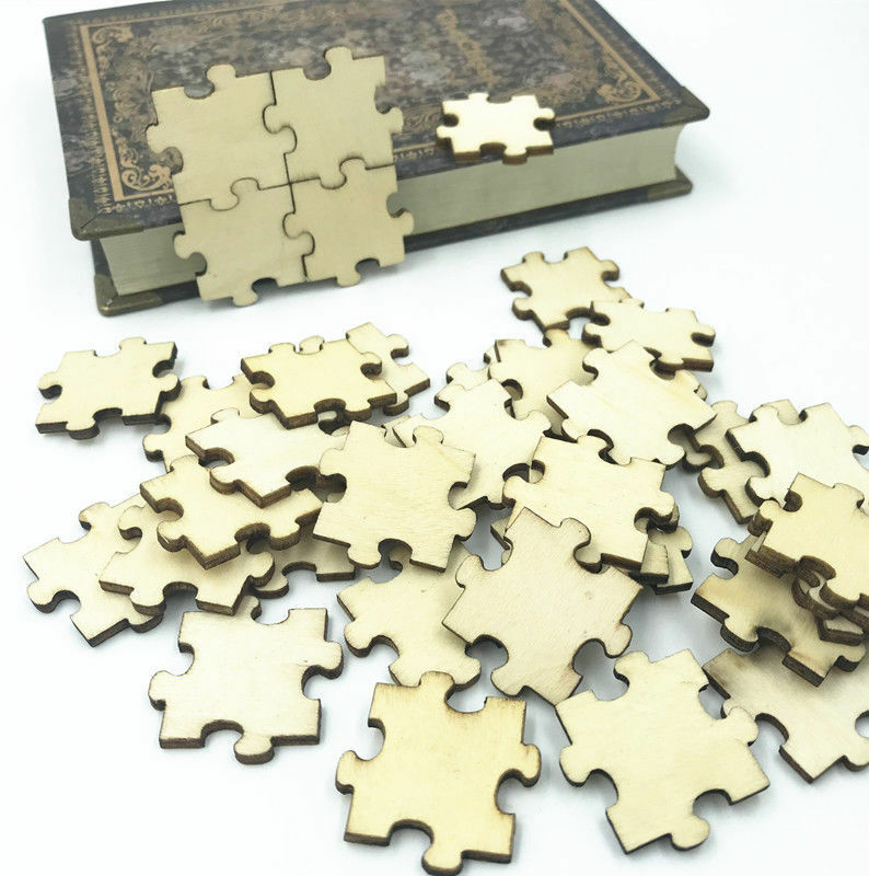wooden puzzle pieces puzzle for kids decoration