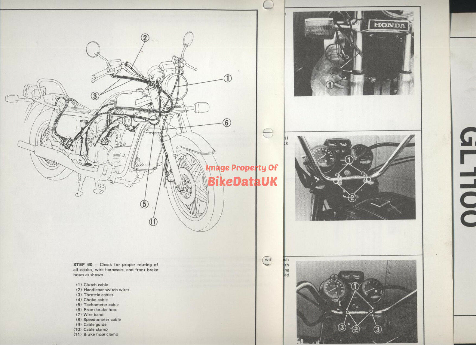 Gl1100 Tachometer Wiring Diagram Trusted Diagrams 1983 Aspencade Schematic Genuine Honda Standard Sc02 80 81 Set Up Manual Gl 1100 Cbr929rr