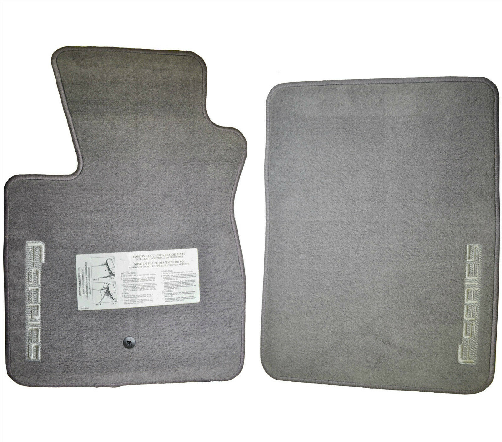 Fits 1992 2010 ford f 150 floor mats oem factory genuine f series 1 of 3free shipping see more