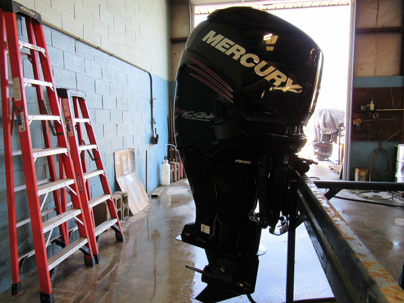 Used 2014 Mercury 250hp Outboard 250xl Verado Pro 25 Shaft Four Wiring Diagram 1 Of 7only Available