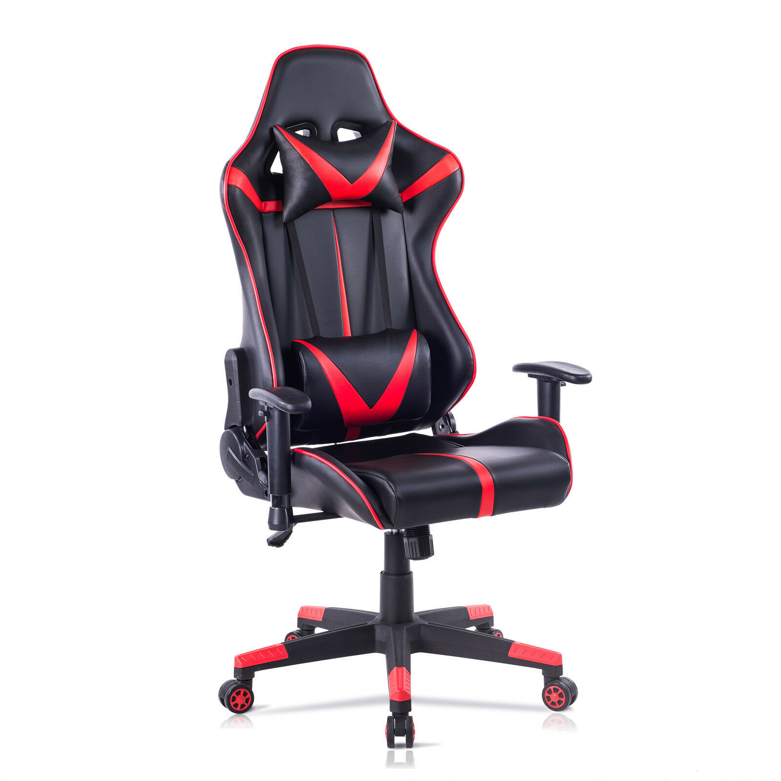 Racing Chaise En Similicuir De Gaming Bureau Rouge Noir BS13rt 1 Sur 9Seulement 0 Disponible Voir Plus