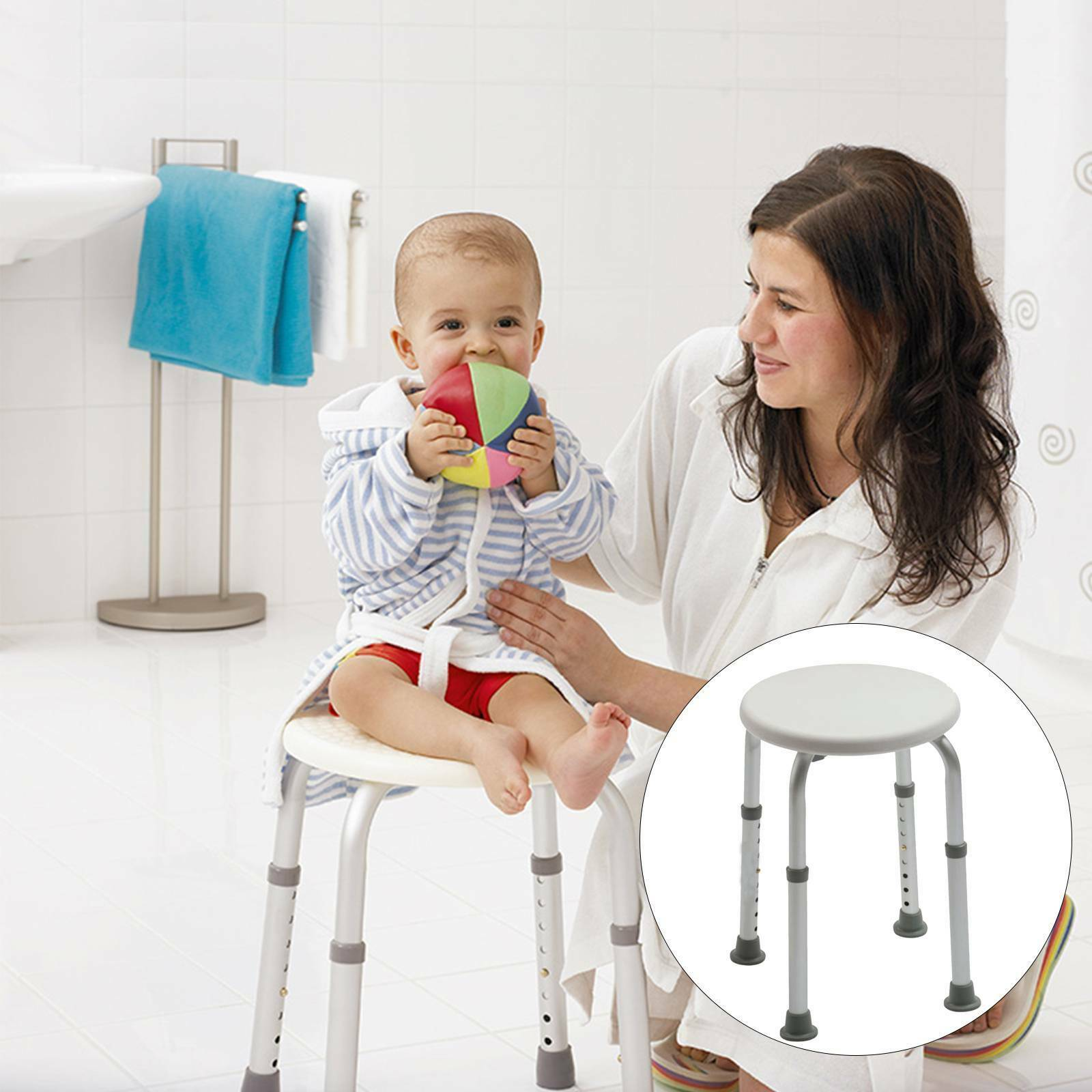DRIVE BATH STOOL Shower Chair Seat Mobility Disability Aid Bathing ...
