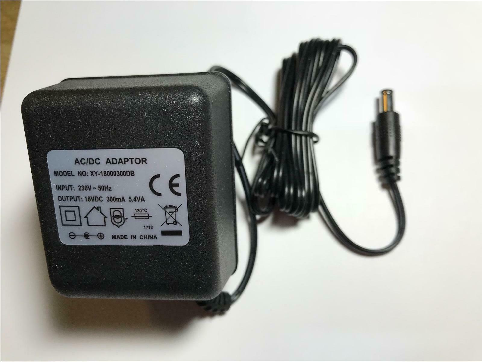 Replacement For 18v 300ma Ac Dc Transformer Adaptor Power Supply Unregulator Unregulated
