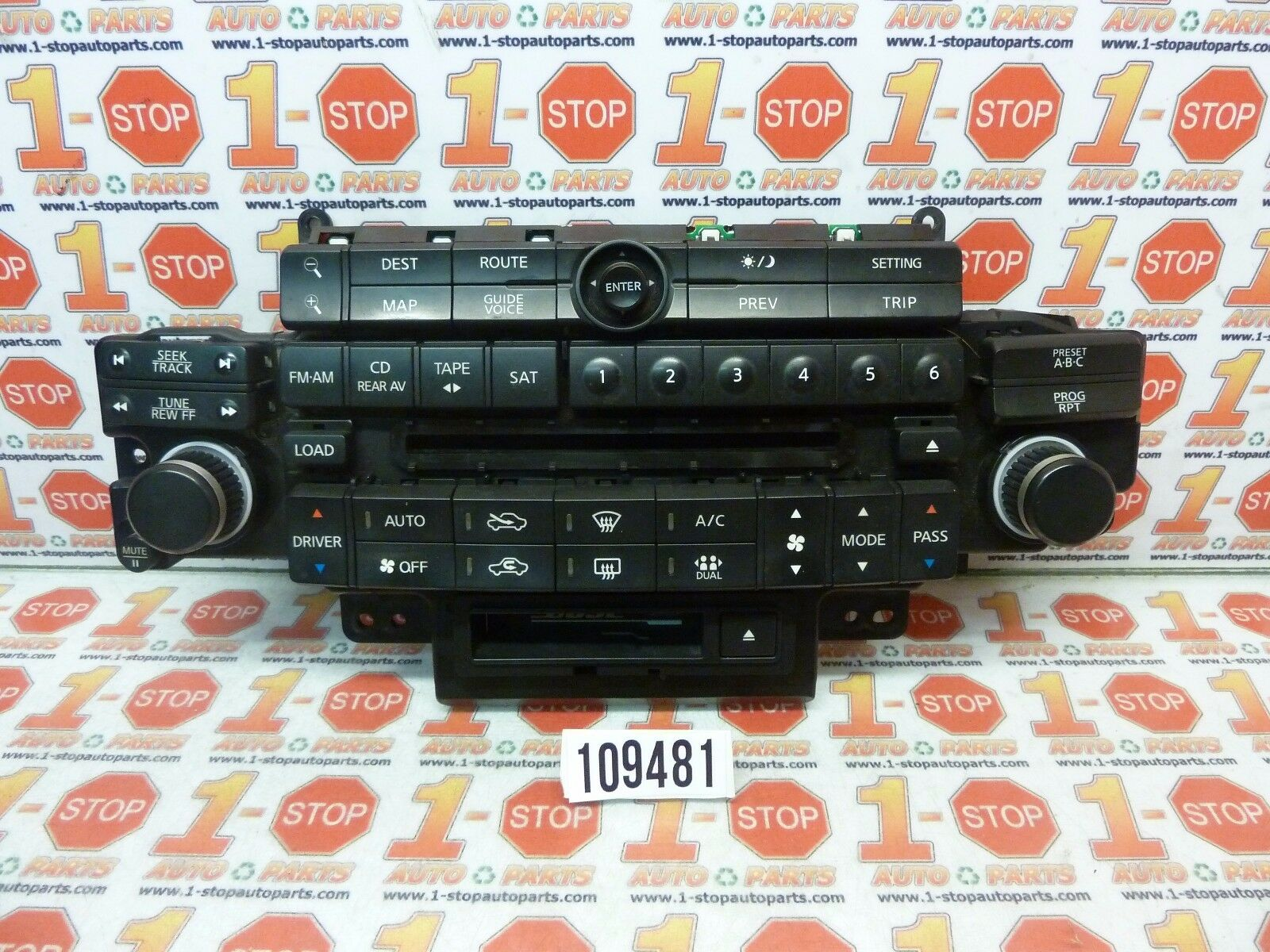 04 05 Infiniti Fx35 Fx45 Radio Gps Navigation Ac Control Face Plate  28396-Cg710 1 of 5FREE Shipping See More