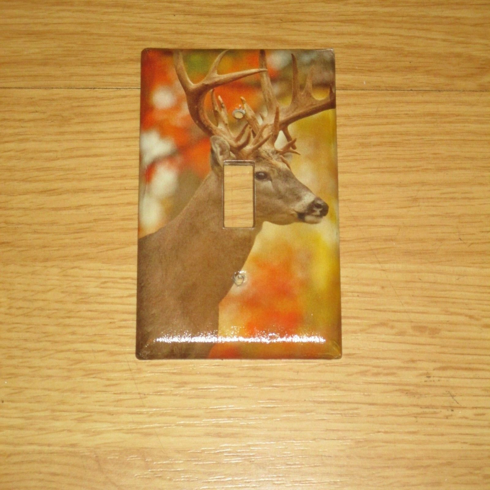 MONSTER RACK TROPHY Buck Whitetail Deer Wild Game Light Switch Cover ...