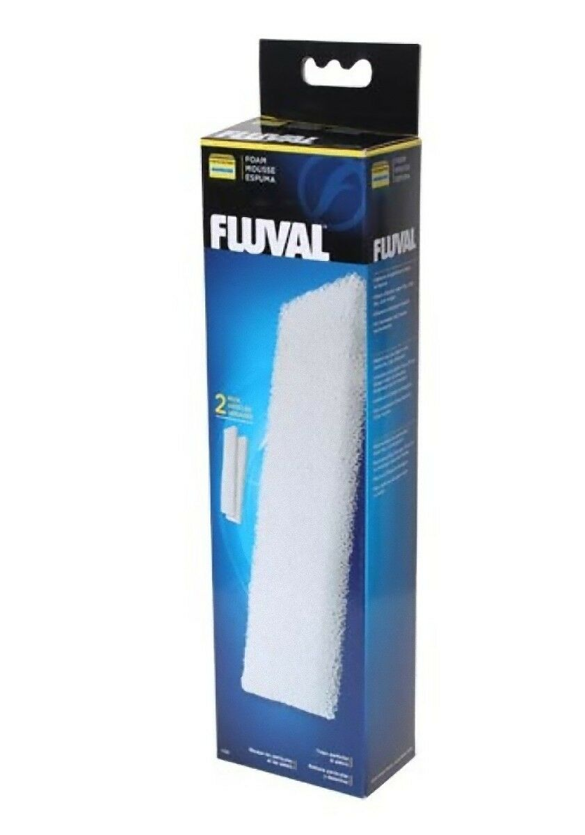 Fluval 404 405 406 Foam Pad Pack of 2 Genuine Hagen Fluval Product Replacement