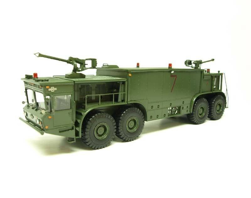 Resin built 1:50 Oshkosh P-15 Truck (ARFF) - Military version