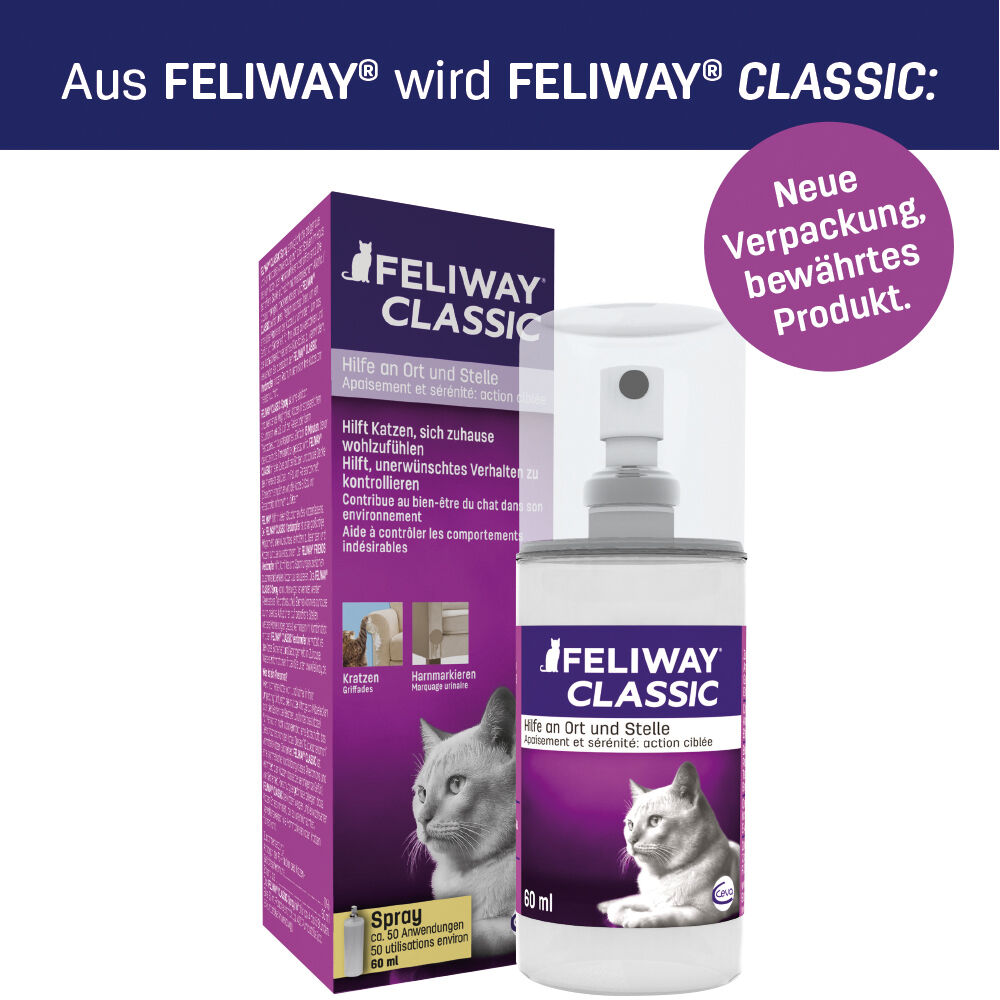 2 x Feliway 60ml Spray Pheromone 120ml /100ml - €30,83