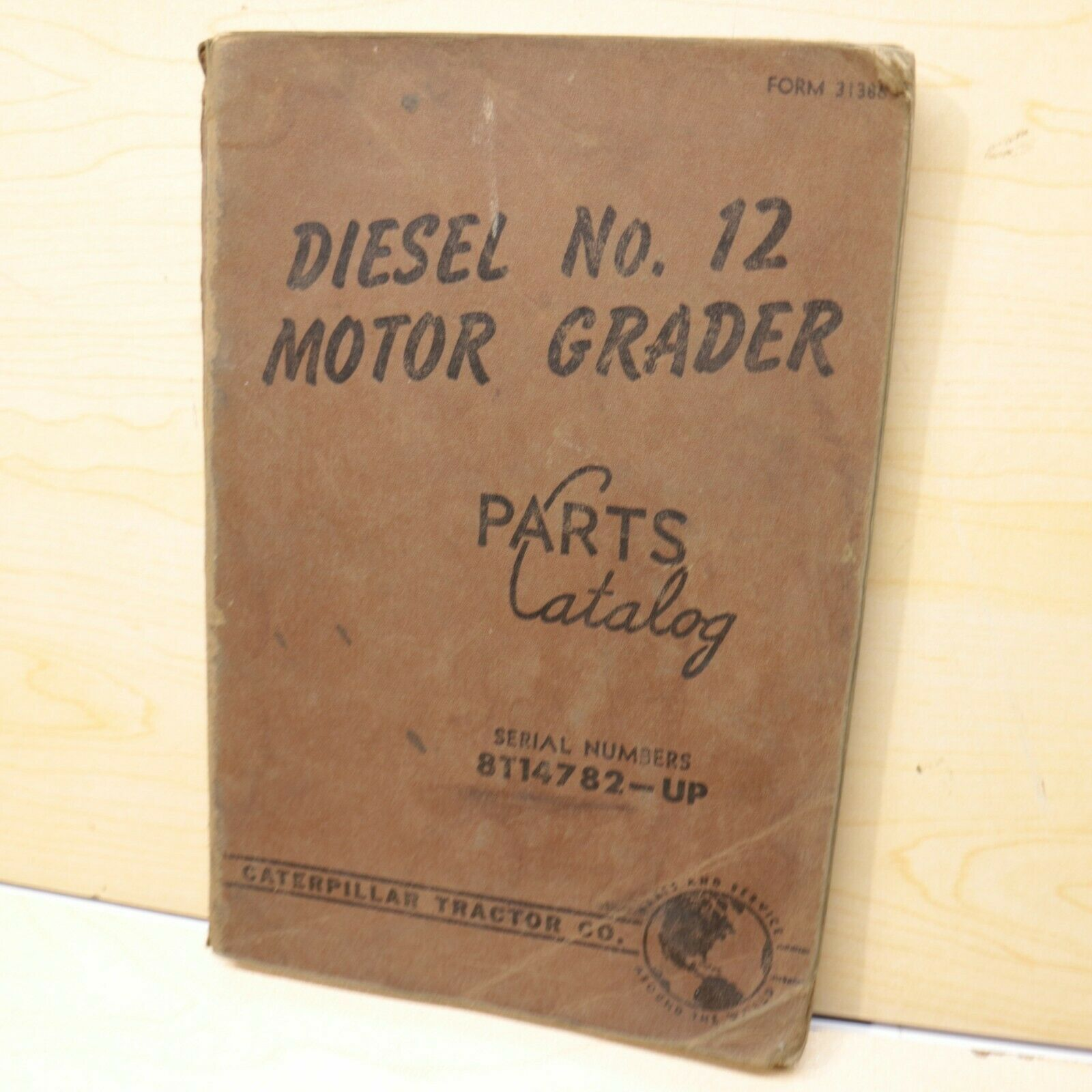 CAT Caterpillar 12 Motor Grader Parts Manual Book catalog spare road OEM  road 8T 1 of 1Only 2 available ...