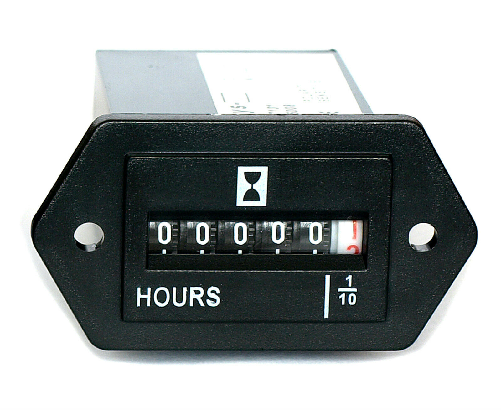 Hour Meter Made In Usa : Hour meter gauge for generator engine non resettable £