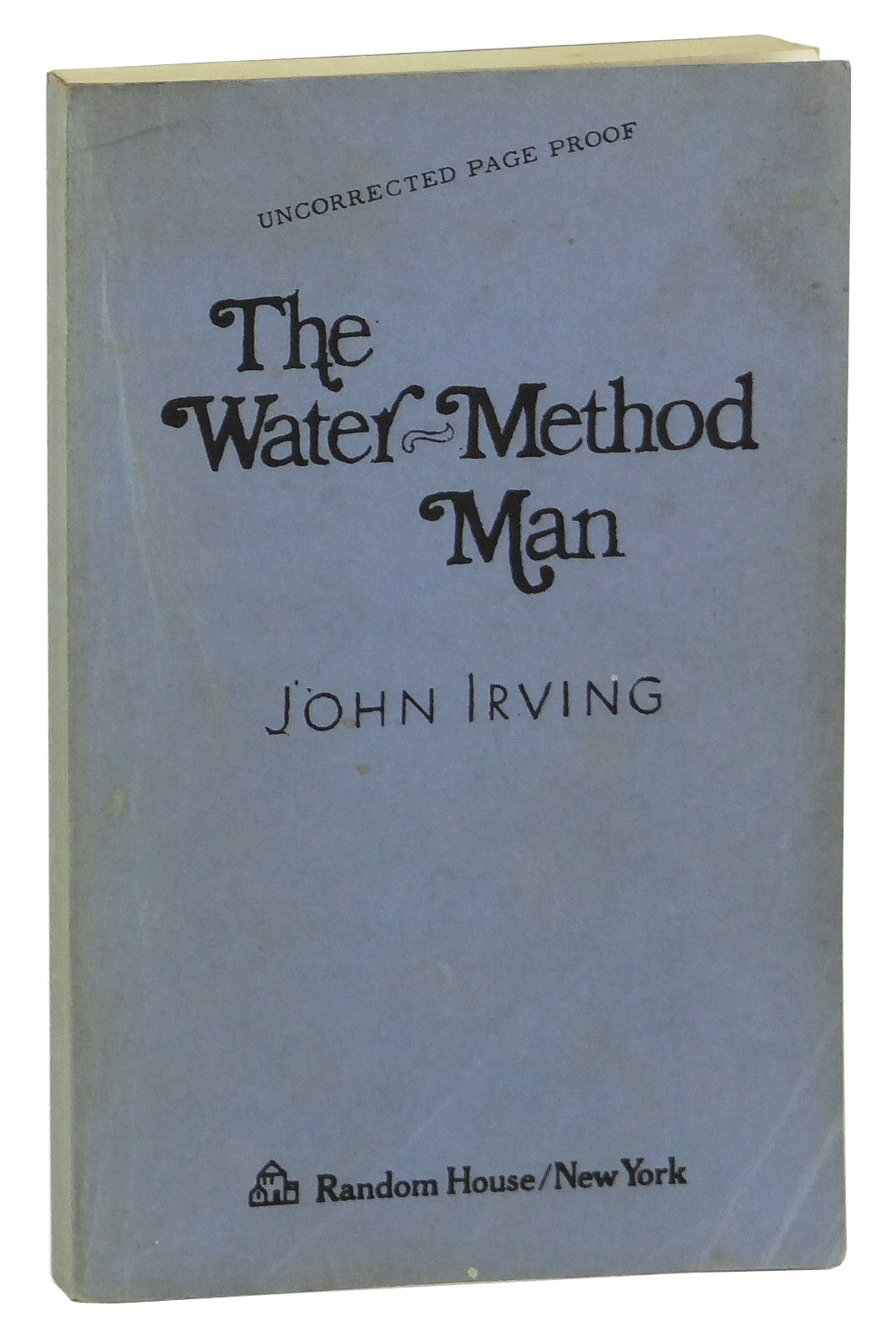 The water method man john irving arc advance uncorrected proof 1 of 5only 1 available malvernweather Image collections