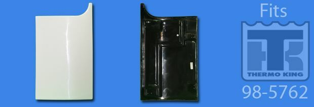Thermo King Replacement Parts : Thermo king replacement lower curbside side panel