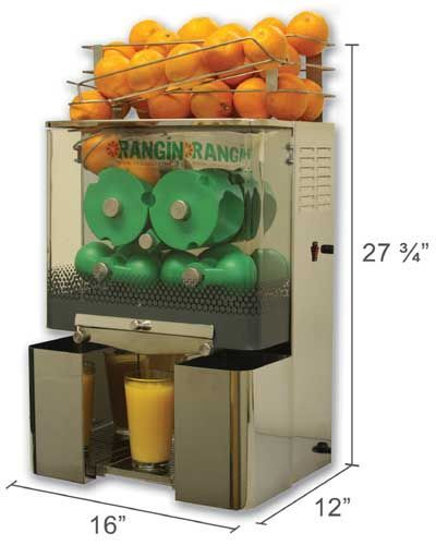 American Made Juicer ~ New made in usa orangin automatic commercial orange