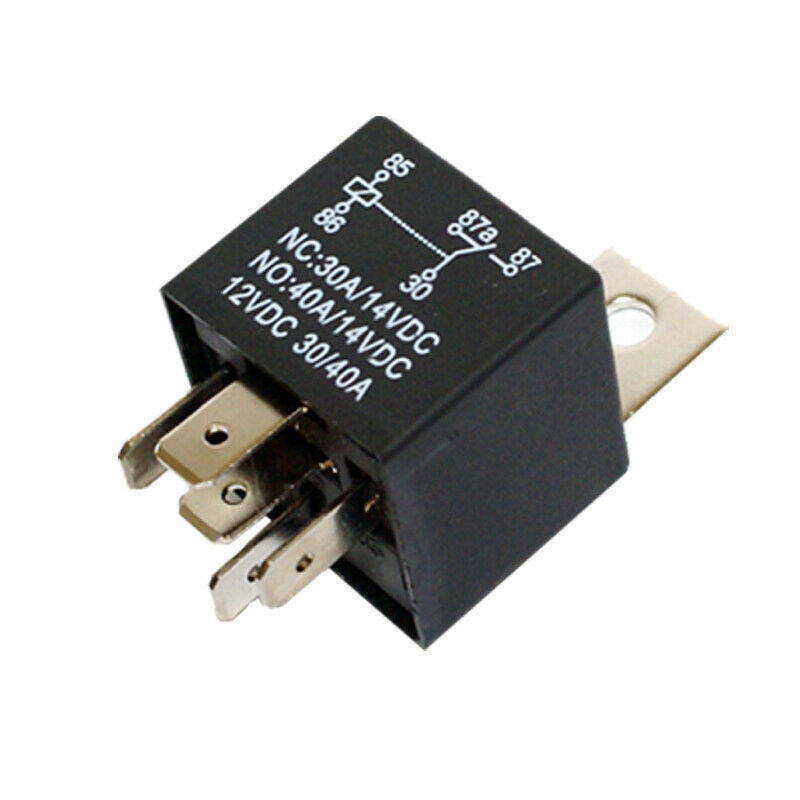 12 Volt 5 Pin Spdt Automotive Relay 30a Nc 40a No 12v 299 With Remote 1 Of See More