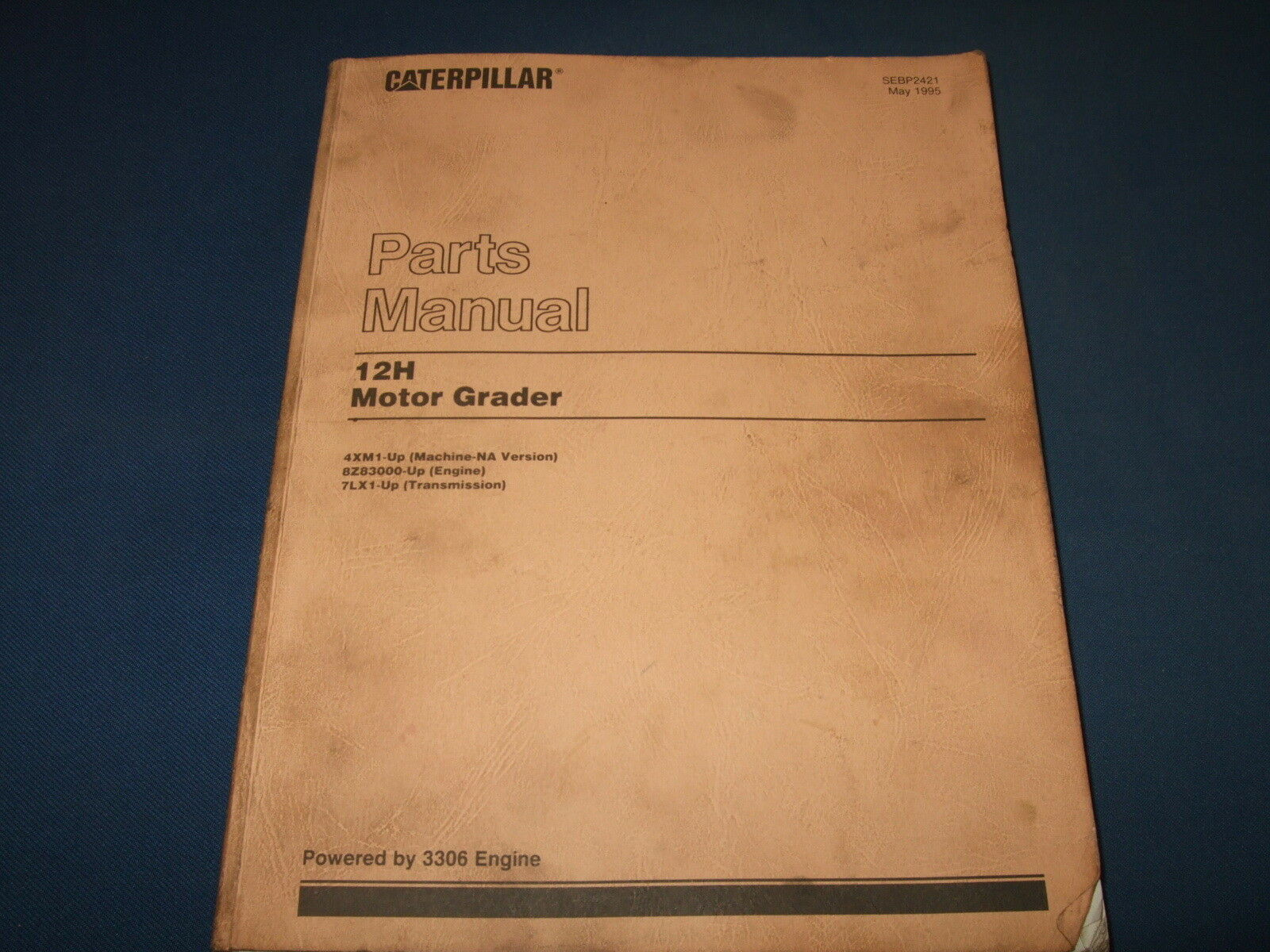 Cat Caterpillar 12H Motor Grader Parts Book Manual S/n 4Xm1-Up 1 of 3Only 1  available ...