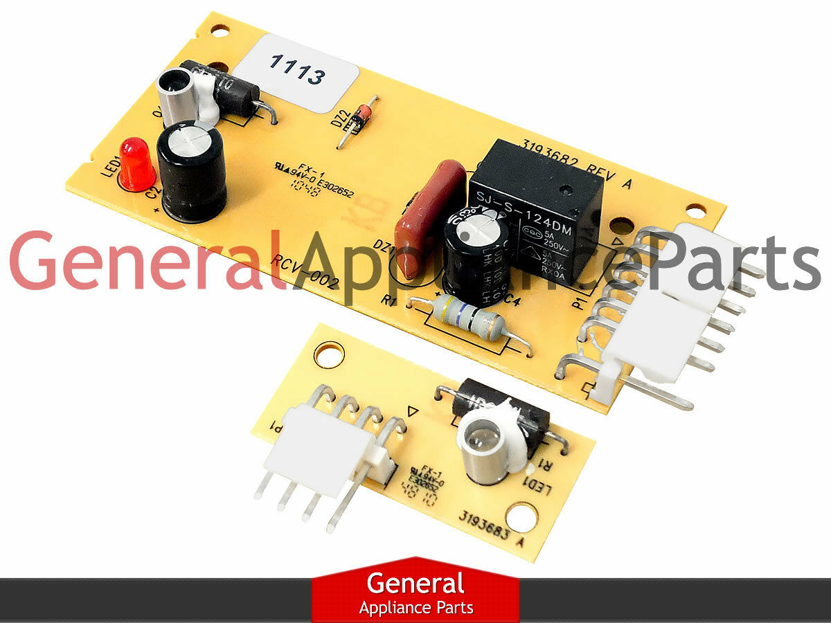 Whirlpool Kenmore Refrigerator Pc Emitter Receiver Control Board Kit K59 Thermostat Wiring Diagram 1 Of See More
