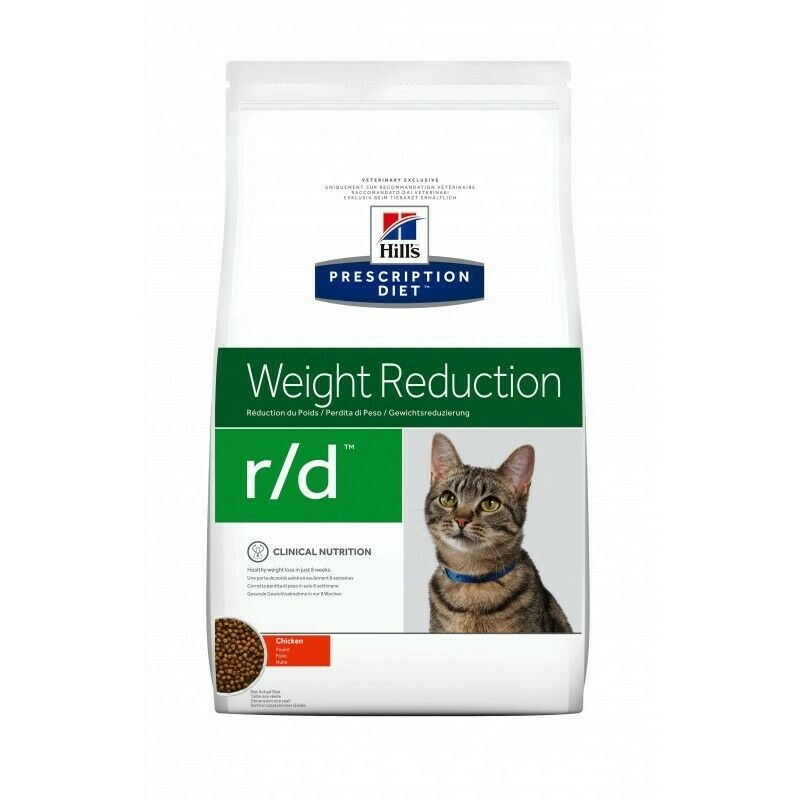 HILL S prescription diet r/d feline low calorie mangime secco kg.5 gusto pollo