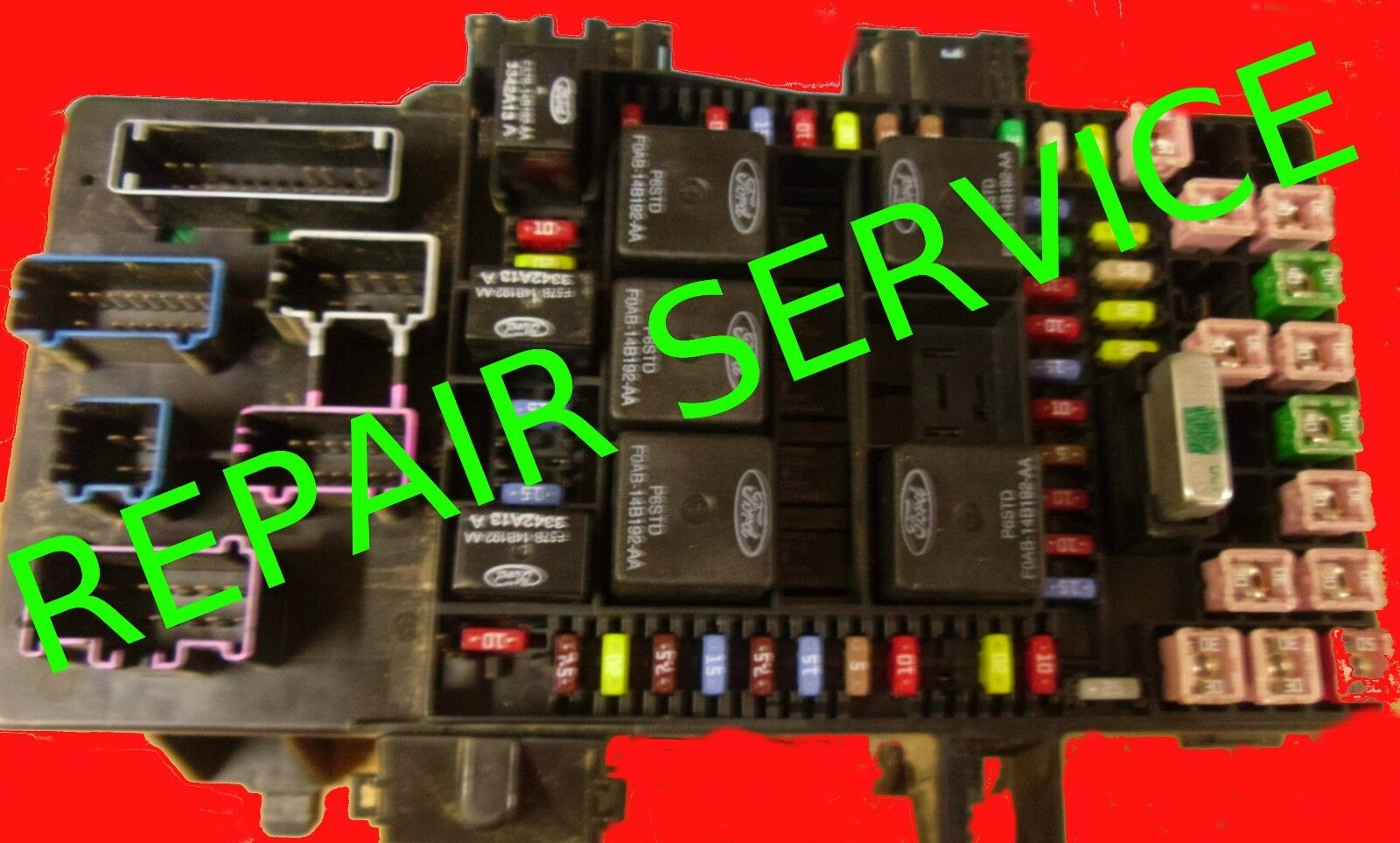 2000-06 Ford Expedition Fuse Box -Bcm Repair Service