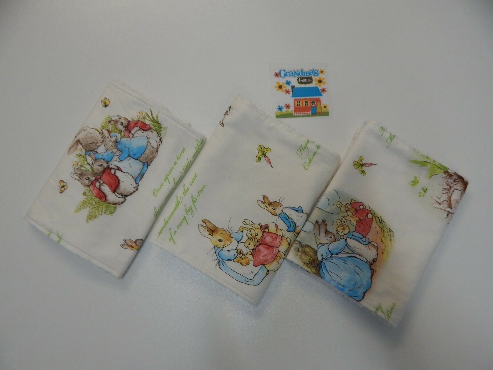 Beatrix Potter Baby Gifts Australia : Beatrix potter peter rabbit burp cloths towelling