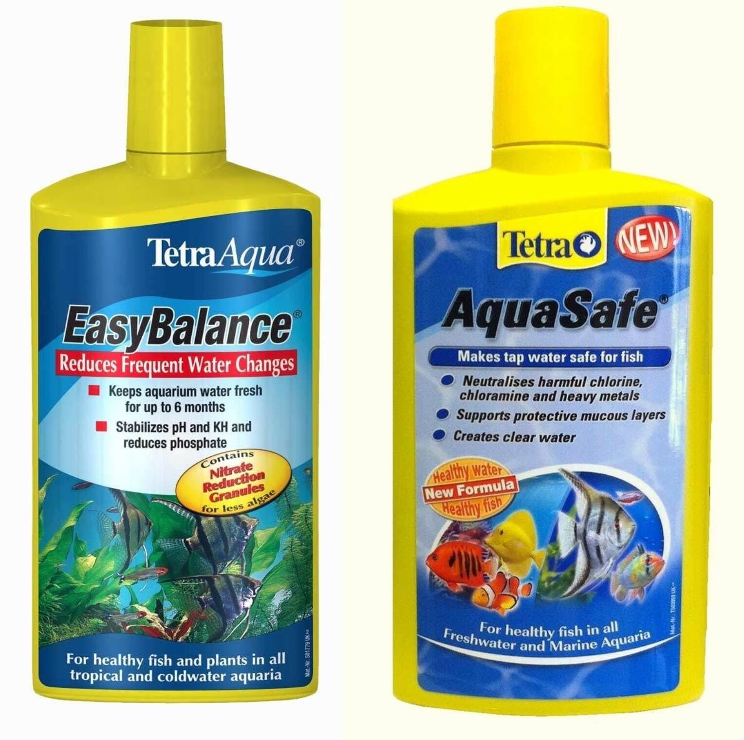 Tetra Aquasafe And Easy balance Twin Pack 250ml Each