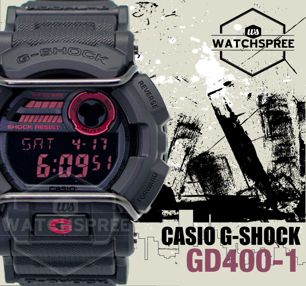 Casio G Shock Classic Series Gd400 1d 8640 Picclick Gd 400mb 1 Of 4free Shipping