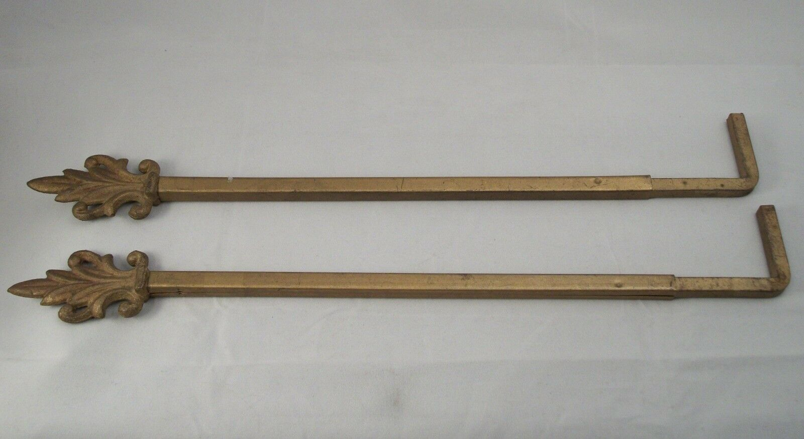 Antique Swinging Curtain Rod Arm Vintage Drapery Adjustable Victorian Art Deco