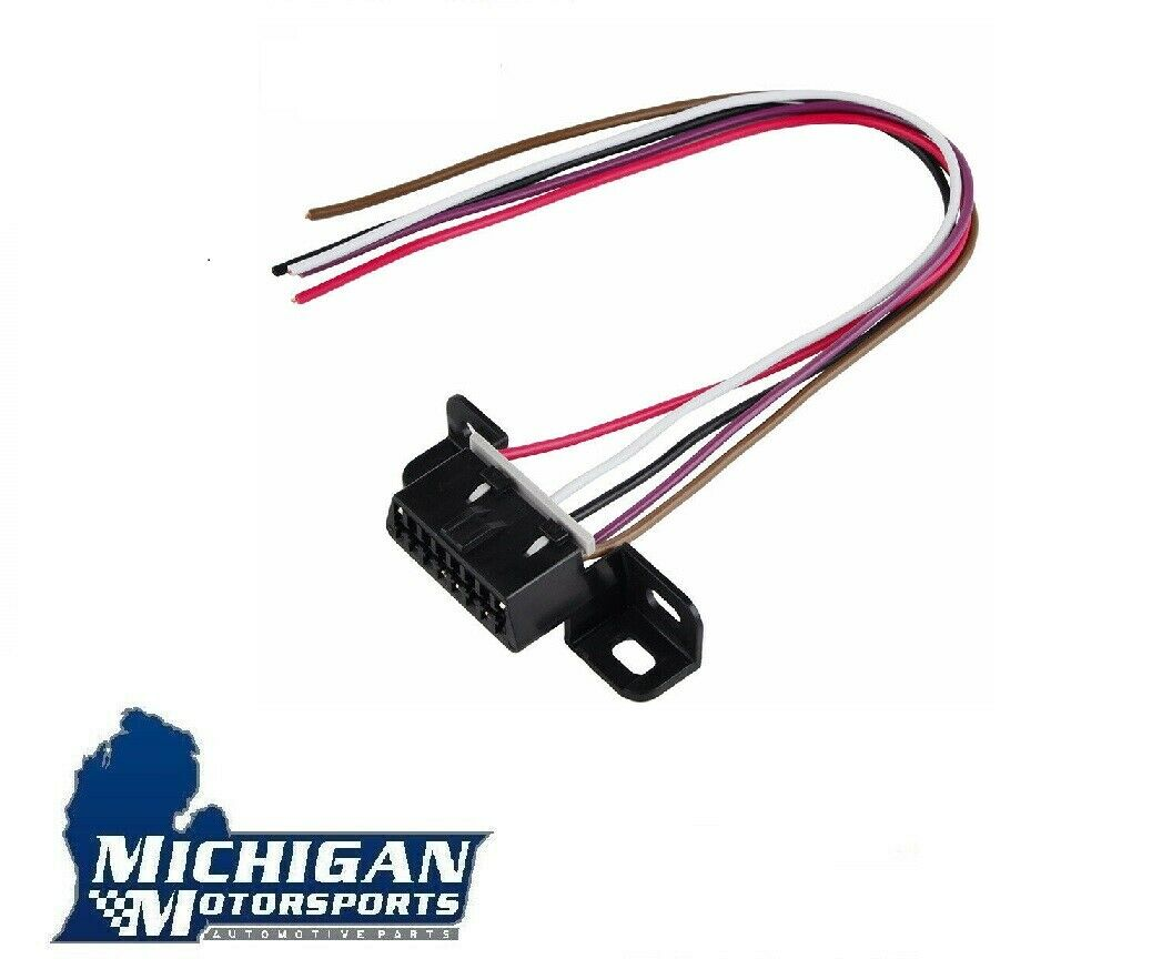 Gm Obd Ii Obd2 Serial Port Harness Connector Pigtail Aldl Ls1 Lt1 Hei Wiring Pig Tail 1 Of 2free Shipping