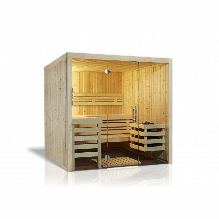 sauna kabine aus elementsauna saunakabine aus massivholz. Black Bedroom Furniture Sets. Home Design Ideas