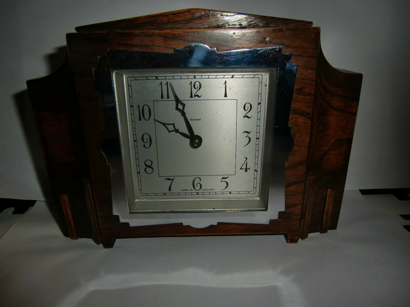 Super Enfield Hand Wind Mantel Clock