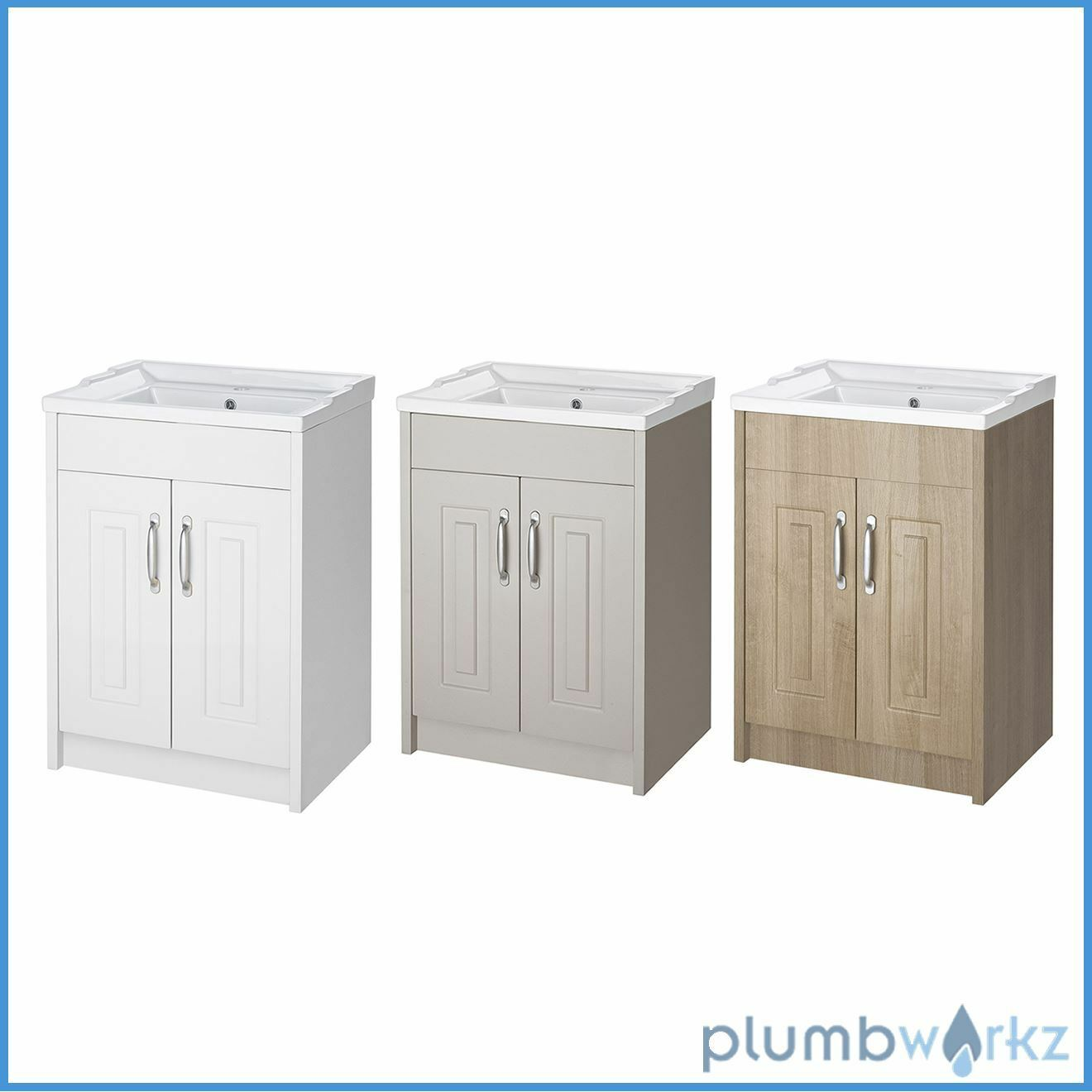 Bathroom traditional cabinet basin vanity unit cabinet for Bathroom cabinets ebay australia