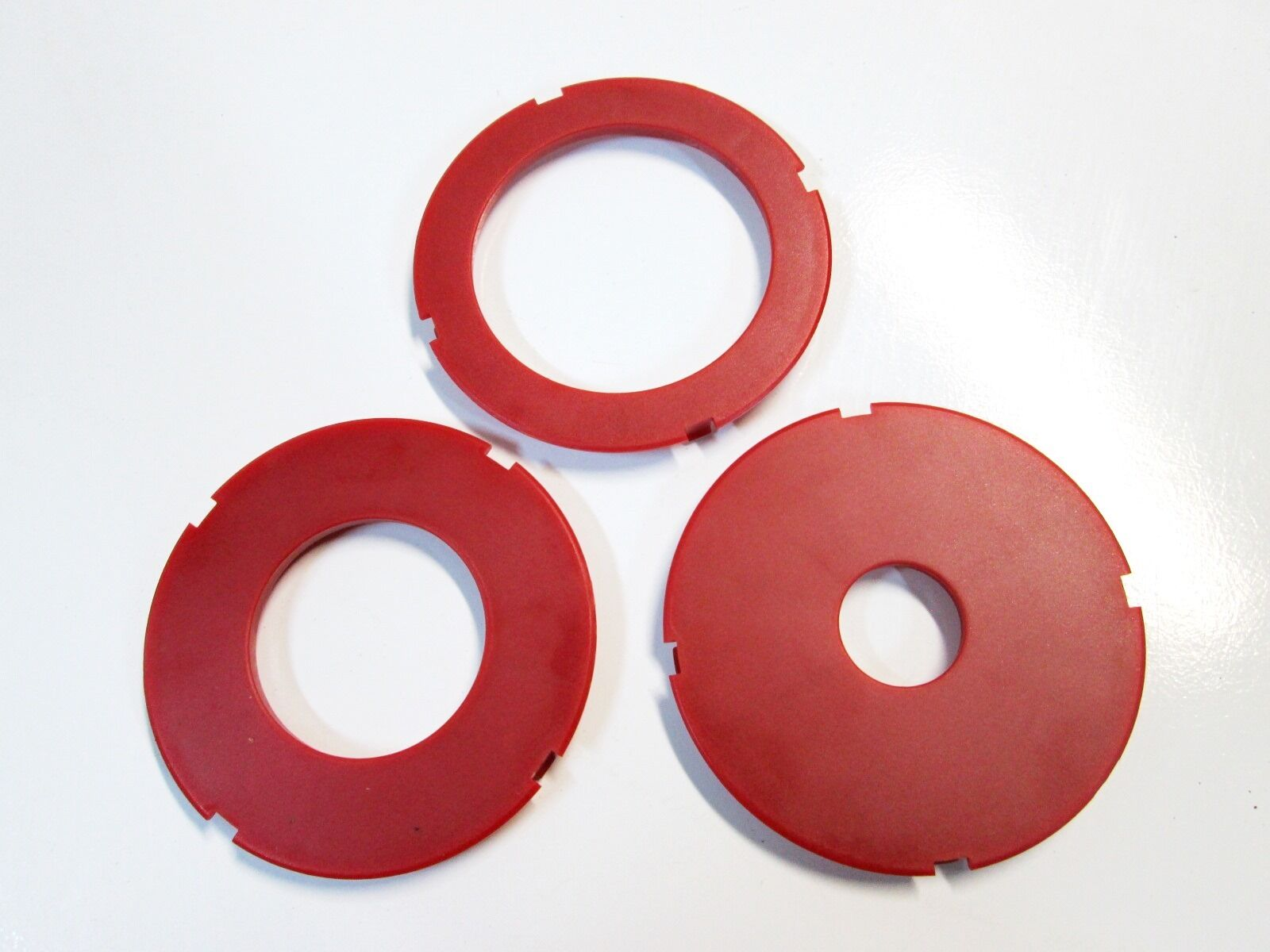 Router table insert ring set 97mm od fits sears craftsman ryobi 1 of 7free shipping keyboard keysfo