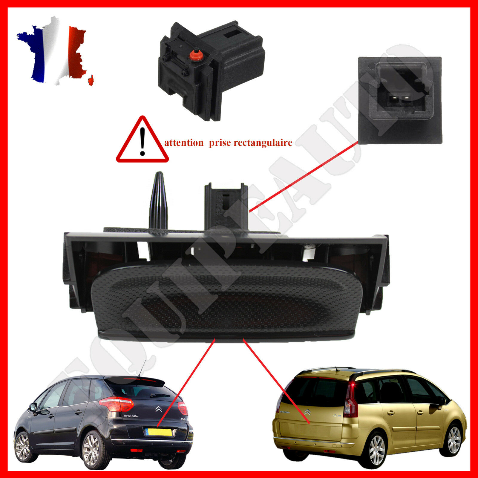 poignee exterieure de coffre citroen c4 grand picasso 8726v7 eur 39 90. Black Bedroom Furniture Sets. Home Design Ideas
