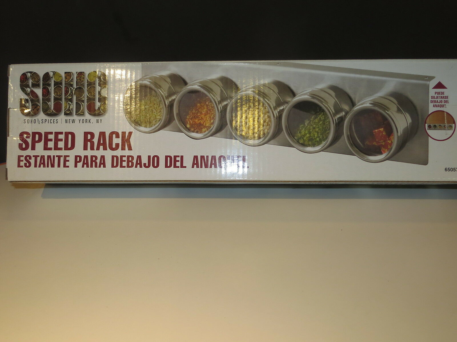 Chef S Speed Rack By Soho 18 8 Ss Kitchen Spice Rack