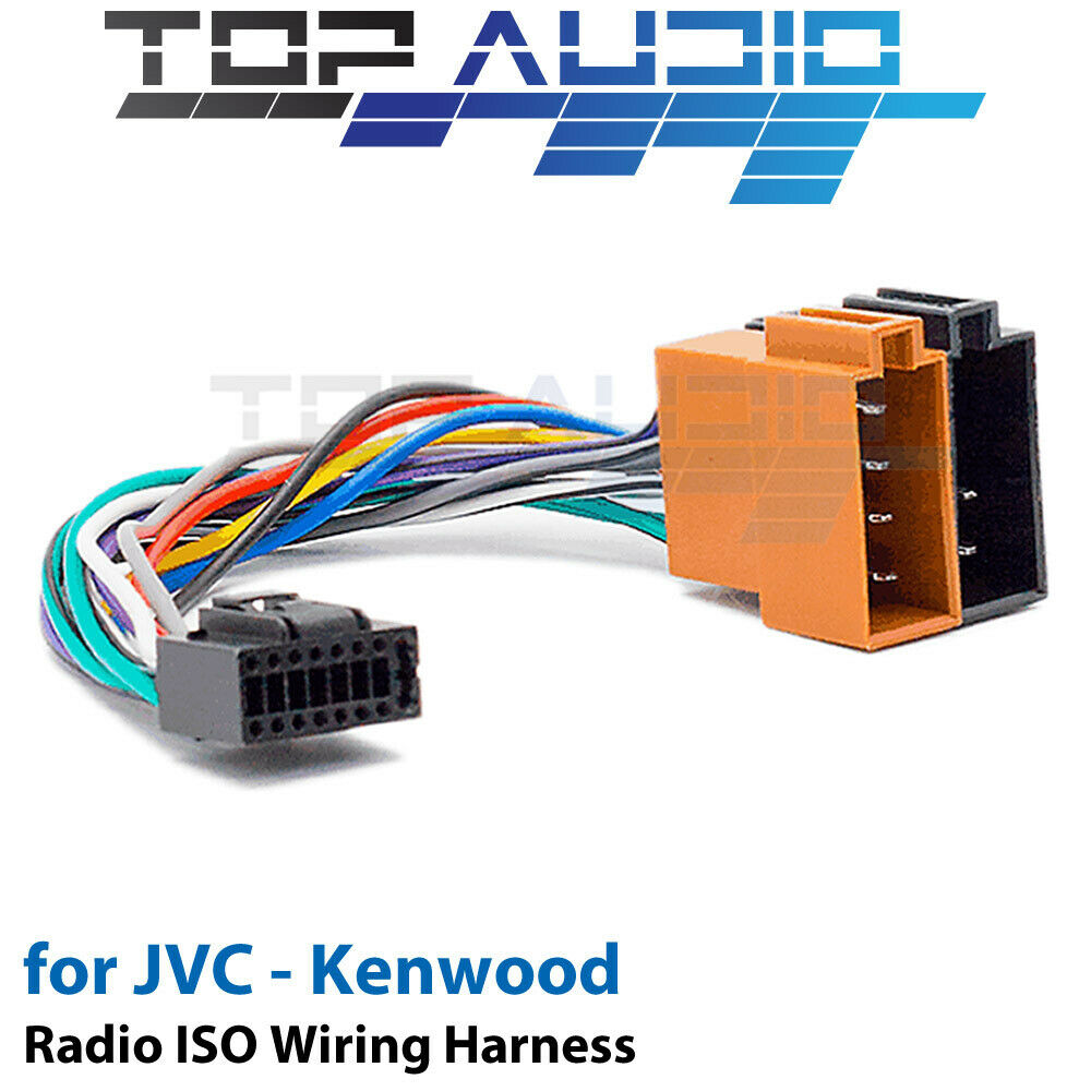 JVC KW-R910BT ISO Wiring Harness cable adaptor connector lead loom wire  plug 1 of 3Only 5 available ...