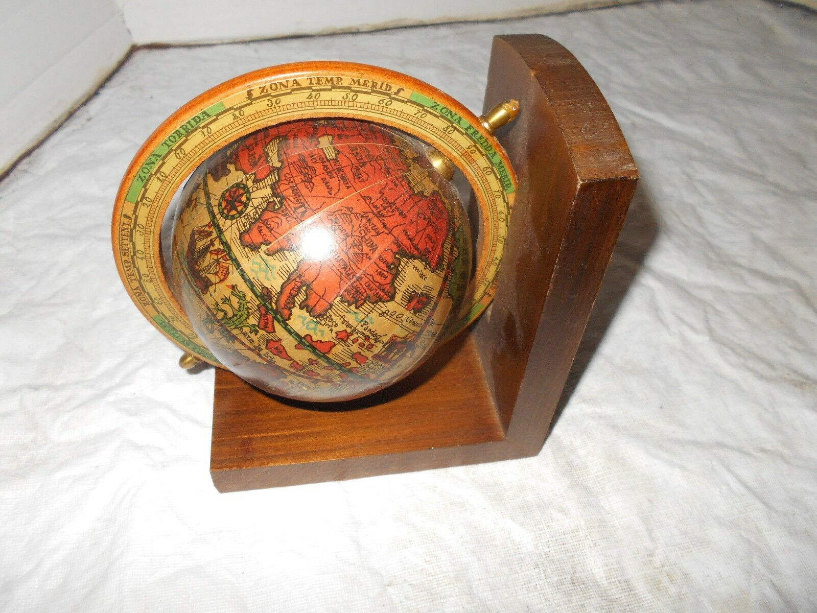 Vtg italian old world map globe spinning large desk display wood vtg italian old world map globe spinning large desk display wood nautical decor 1 of 4 see more gumiabroncs Image collections