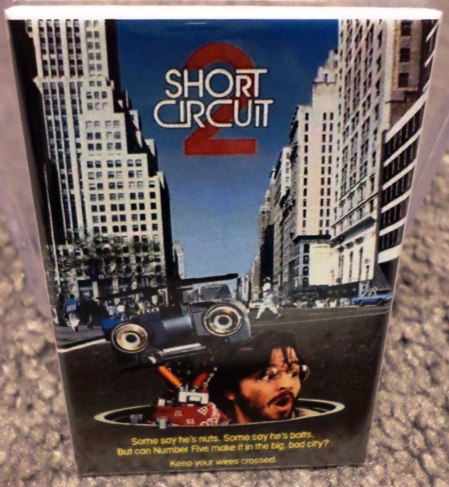 Short Circuit 2 Movie Poster X 3 Refrigerator Locker Magnet Shortcircuit2 1 Of 2only 5 Available