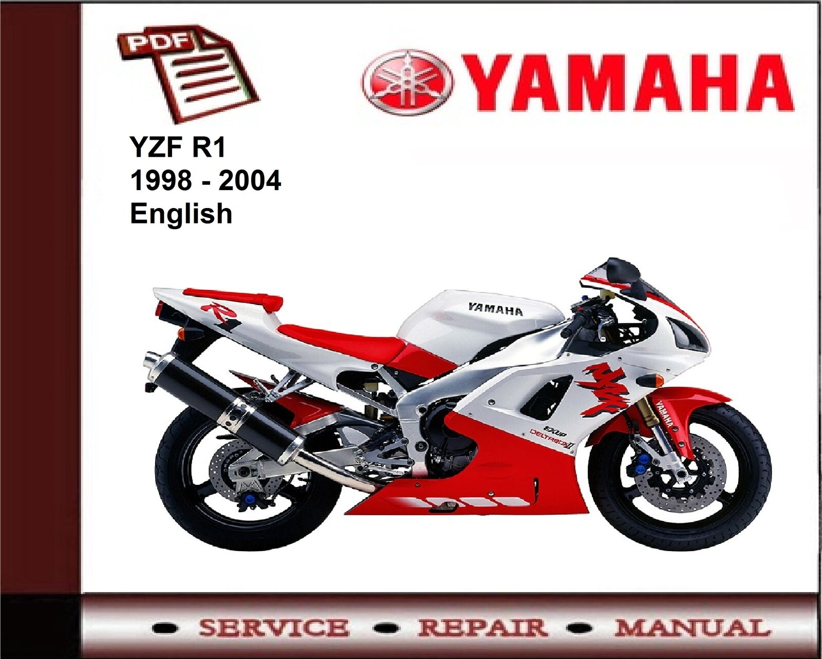 yamaha yzf r1 yzfr1 1998 2004 workshop service repair manual rh picclick co  uk yamaha r1 5jj owners manual yamaha r1 5jj workshop manual