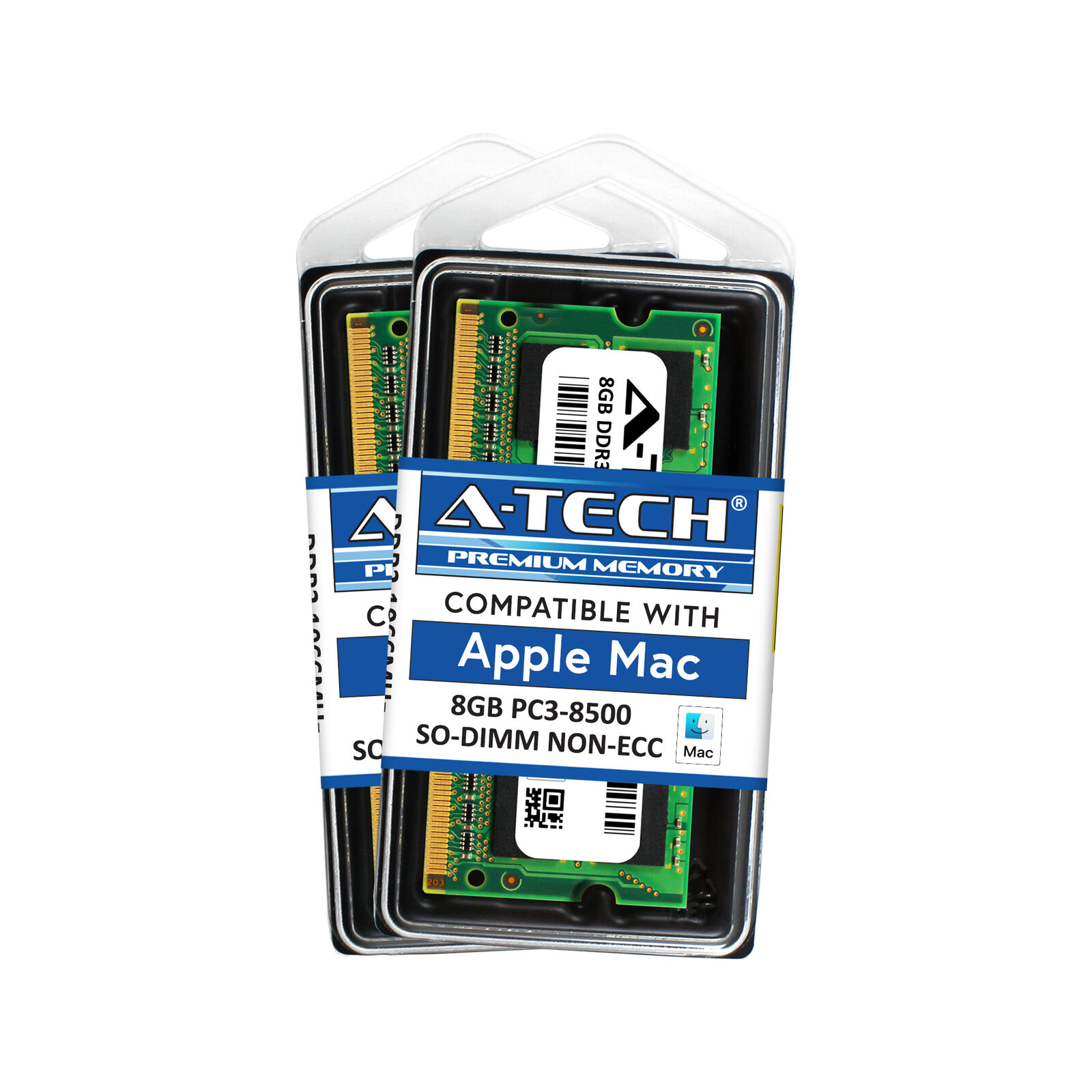 16gb Kit 2x 8gb Pc3 8500 Apple Macbook Pro Mid 2010 Imac