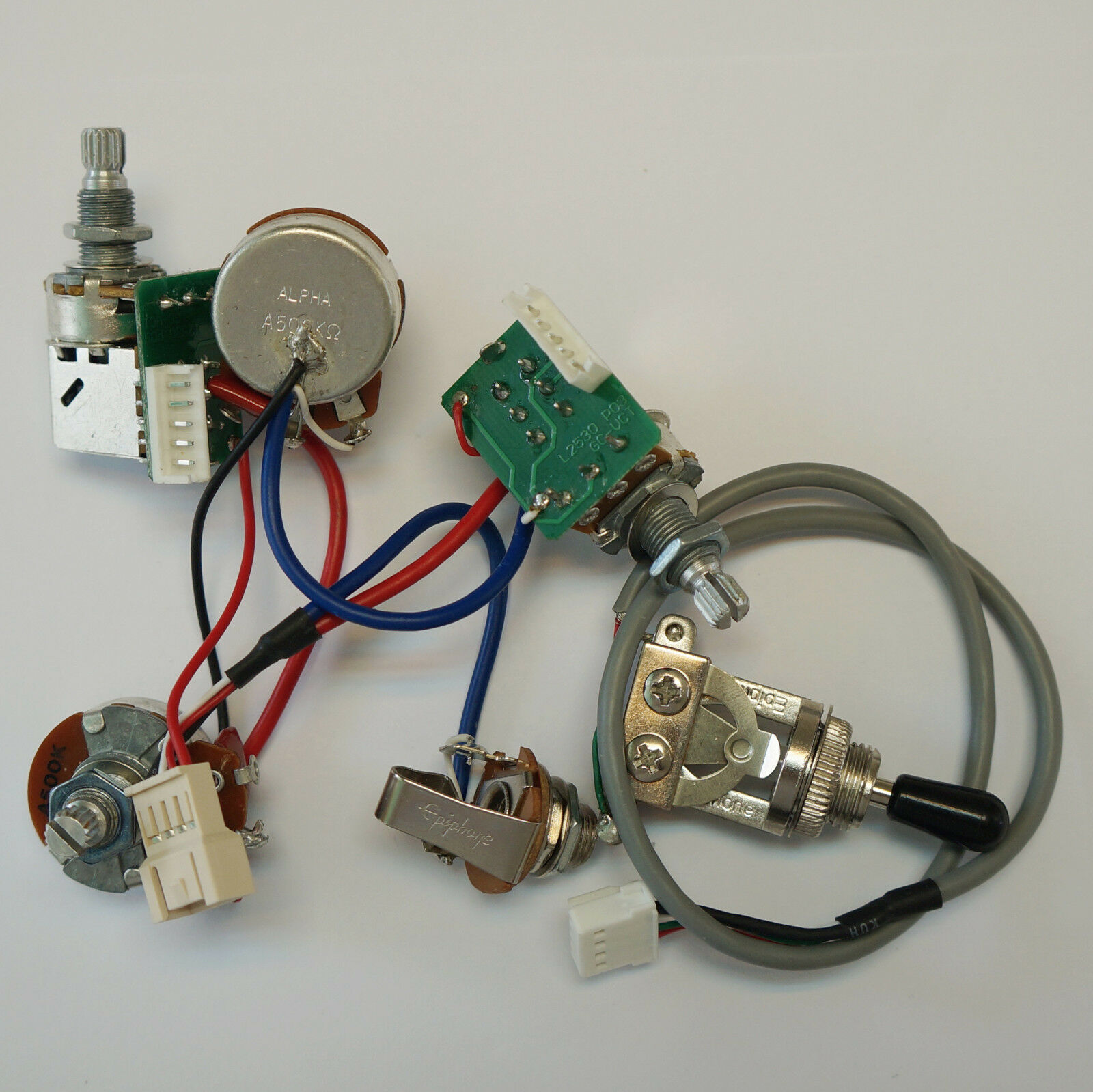 Pro Wiring Harness Pots Schematic Diagrams Toyota Pickup Real Epiphone Push Pull Alpha Switch Fit 1990