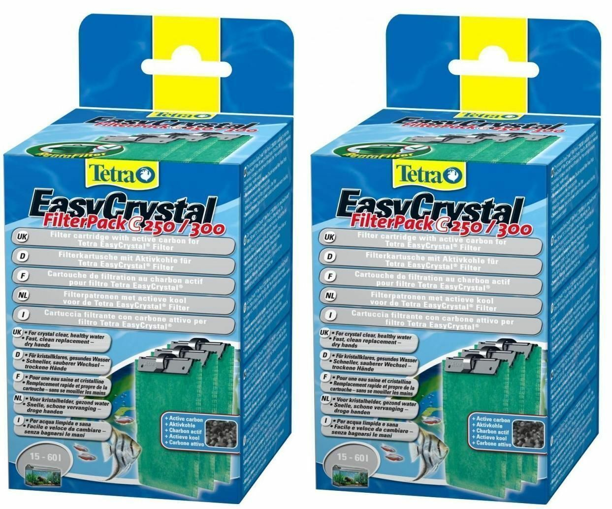 Tetra EasyCrystal Filter Pack C 250/300 with Activated Carbon*Tetratec
