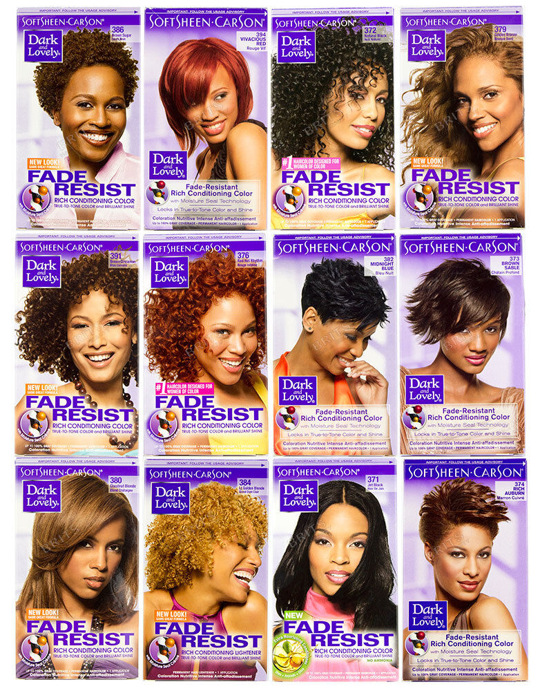Dark And Lovely Fade Resistant Hair Colour 699 Picclick Uk