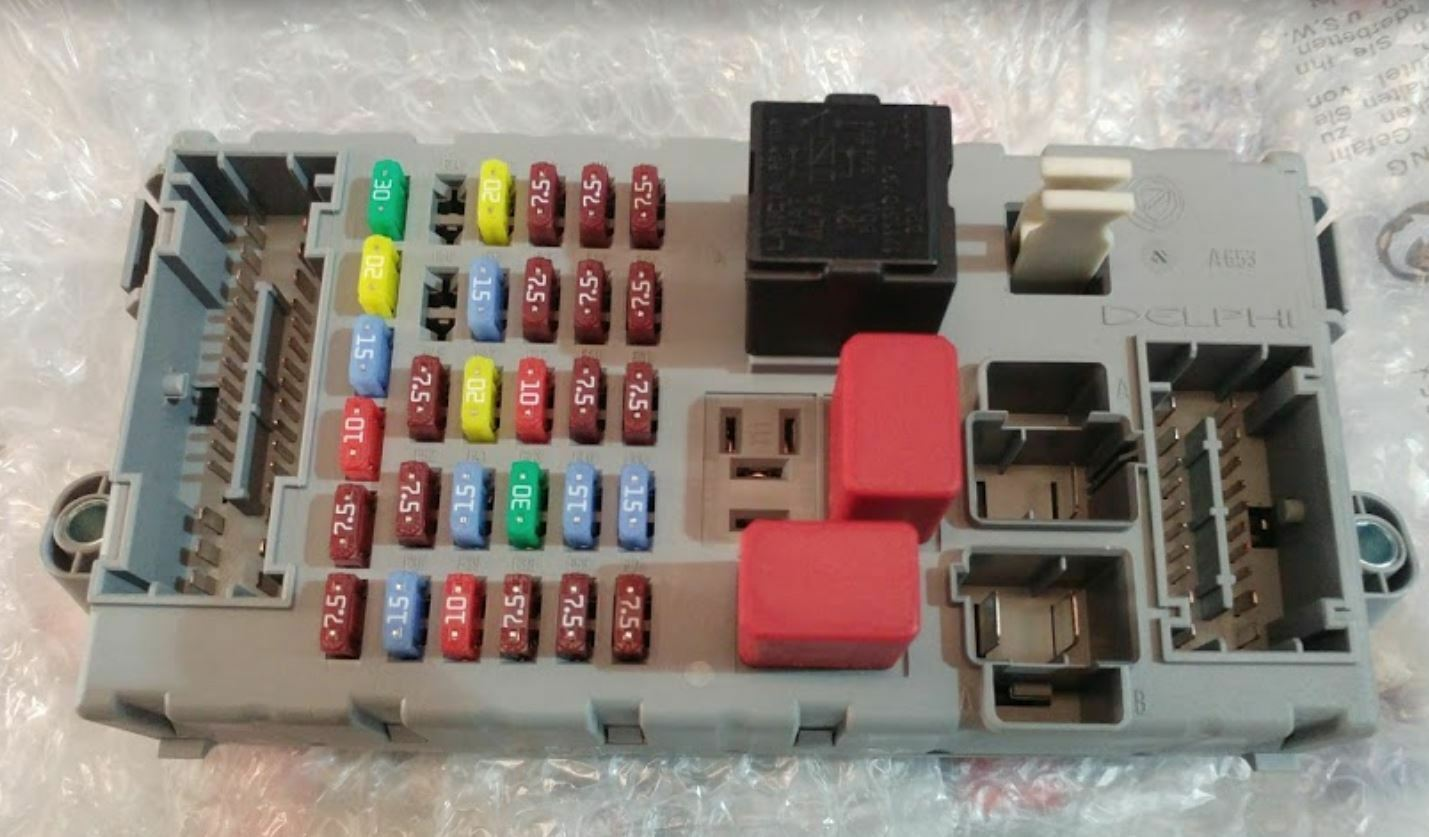 Genuine Peugeot Boxer Citroen Relay 2006 - 2014 Fuse Box 1613253180  1369571080 1 of 1Only 1 available ...
