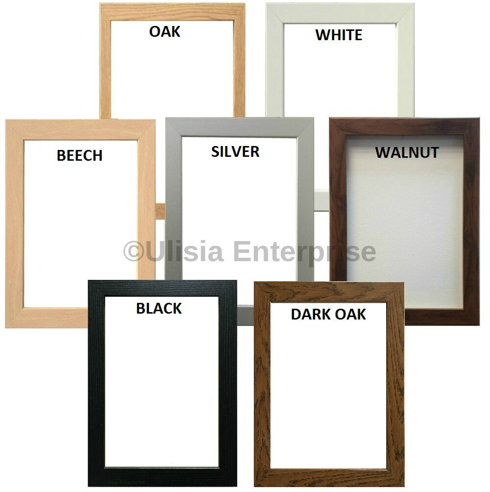PHOTO FRAME Picture Frame Poster Frame In Various Sizes ...