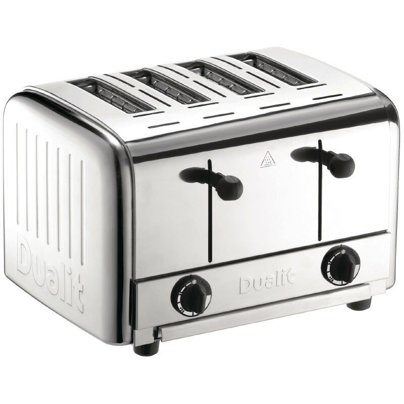 dualit gastronomie 4 schlitze toaster edelstahl toaster gastro toastger t toast eur 362 00. Black Bedroom Furniture Sets. Home Design Ideas