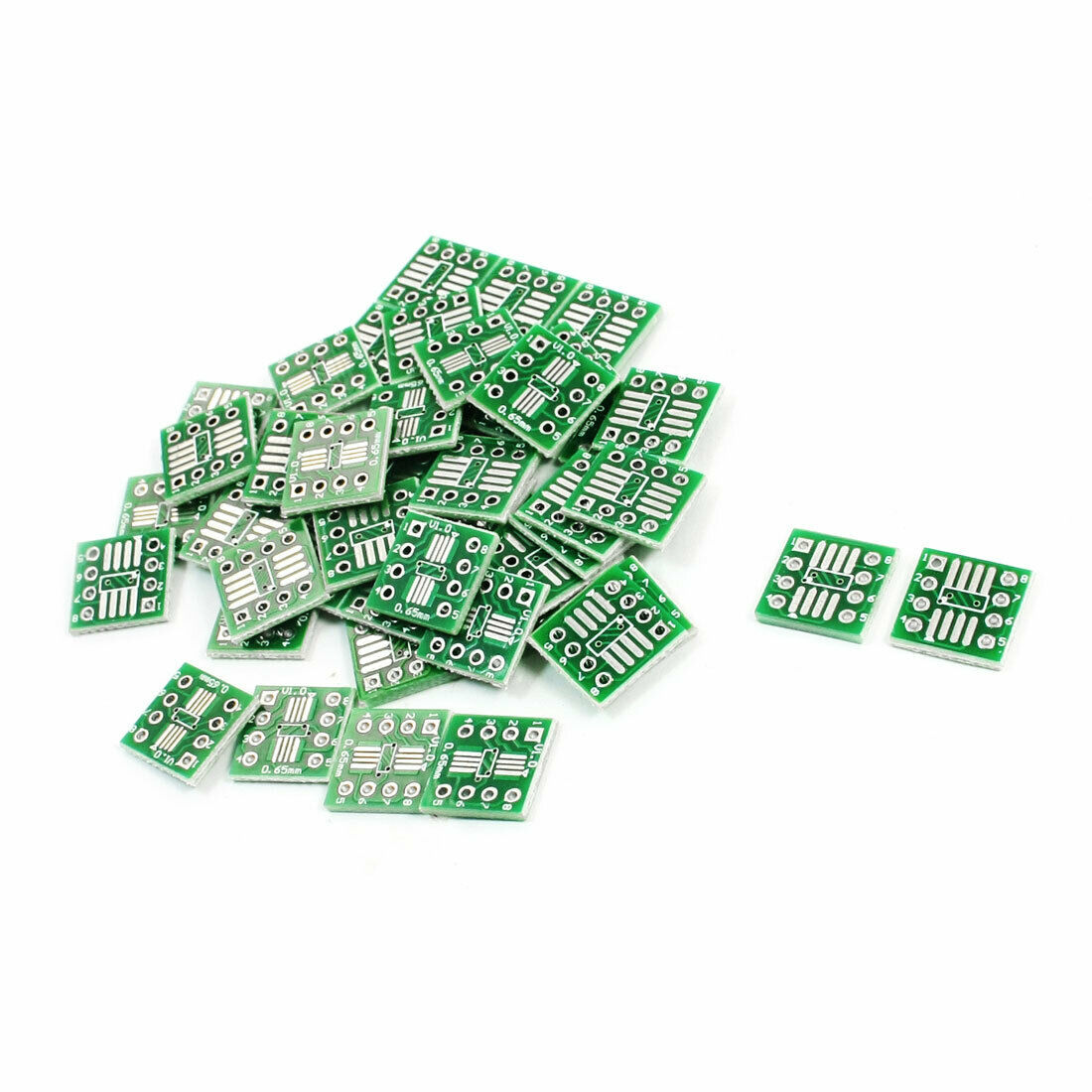 50pcs Smt Ic Sop8 065mm To Dip8 254mm Pcb Adapter Converter Antietching Circuit Board Ink Marker Pen For Diy Arduino 1 Of 1only Available