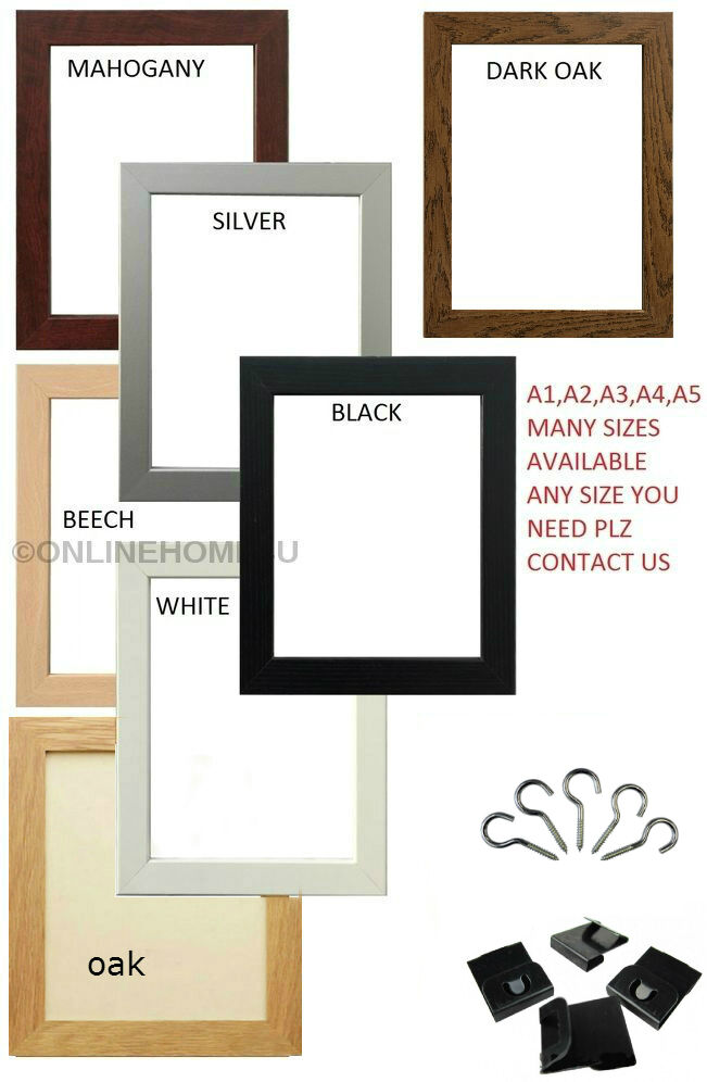 A1 A2 A3 A4 A5 A6 Picture Frames Photo Frames Poster Frames Various