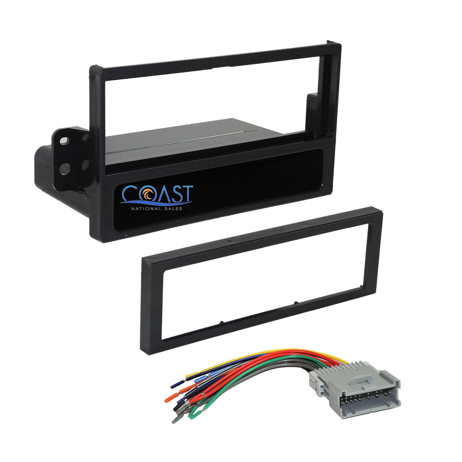 Car Radio Stereo Dash Kit Wire Harness For 2000 2004 Saturn Ion Vue Ls 1 Of 3free Shipping