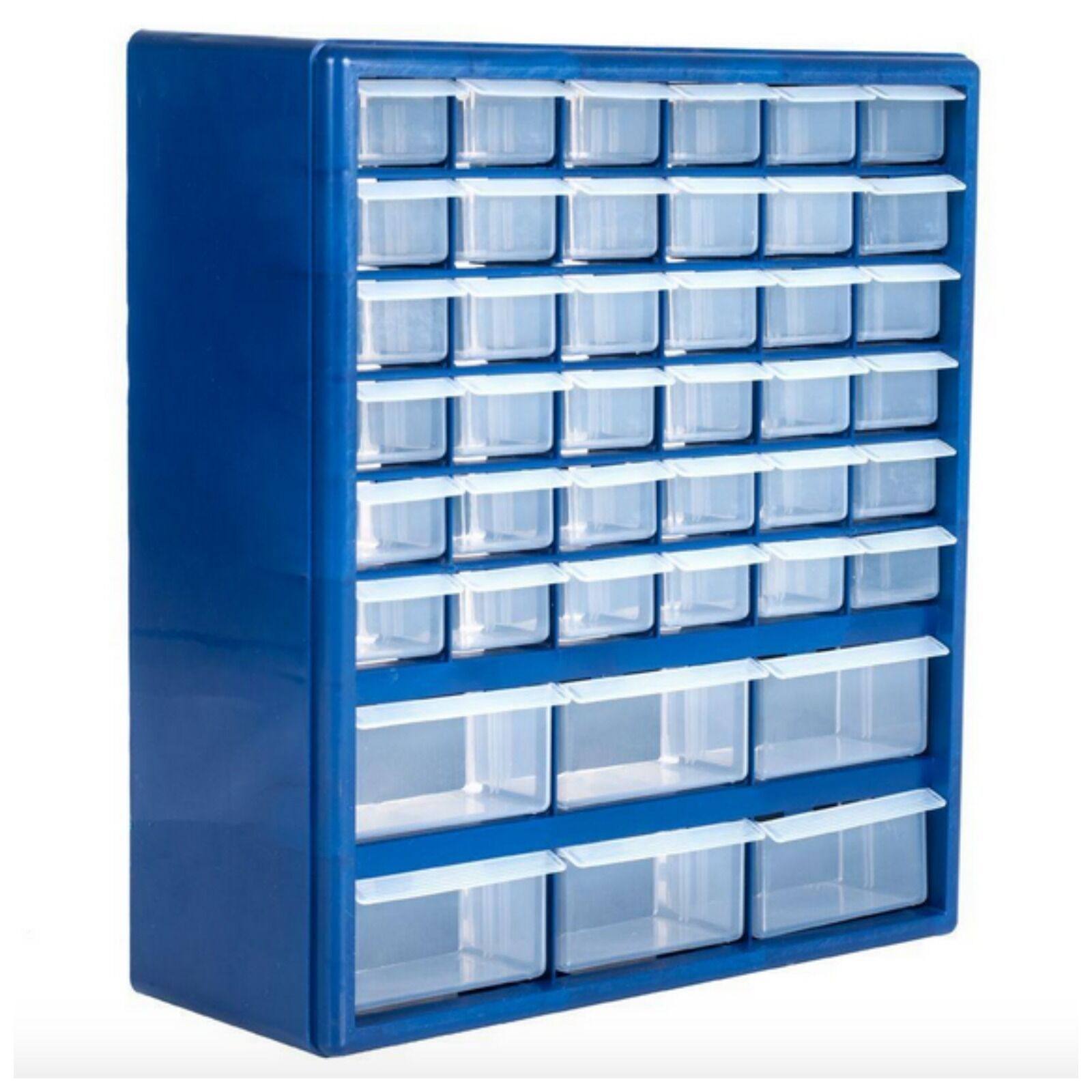 Compartment Storage Box Small Parts Drawer Cabinet Organizer 42 Bins Drawers  New 1 Of 12Only 1 Available Compartment Storage Box Small Parts Drawer  Cabinet ...
