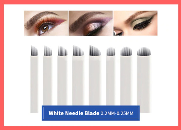 microblading nadeln permanent make up blades microblading nadeln makeup blades eur 3 99. Black Bedroom Furniture Sets. Home Design Ideas
